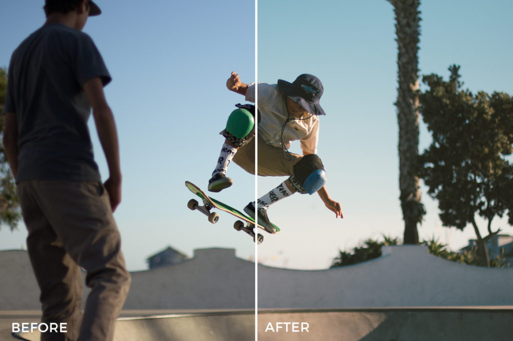 5 Forest Dempsey Shred & Skate Lightroom Presets - FilterGrade Marketplace