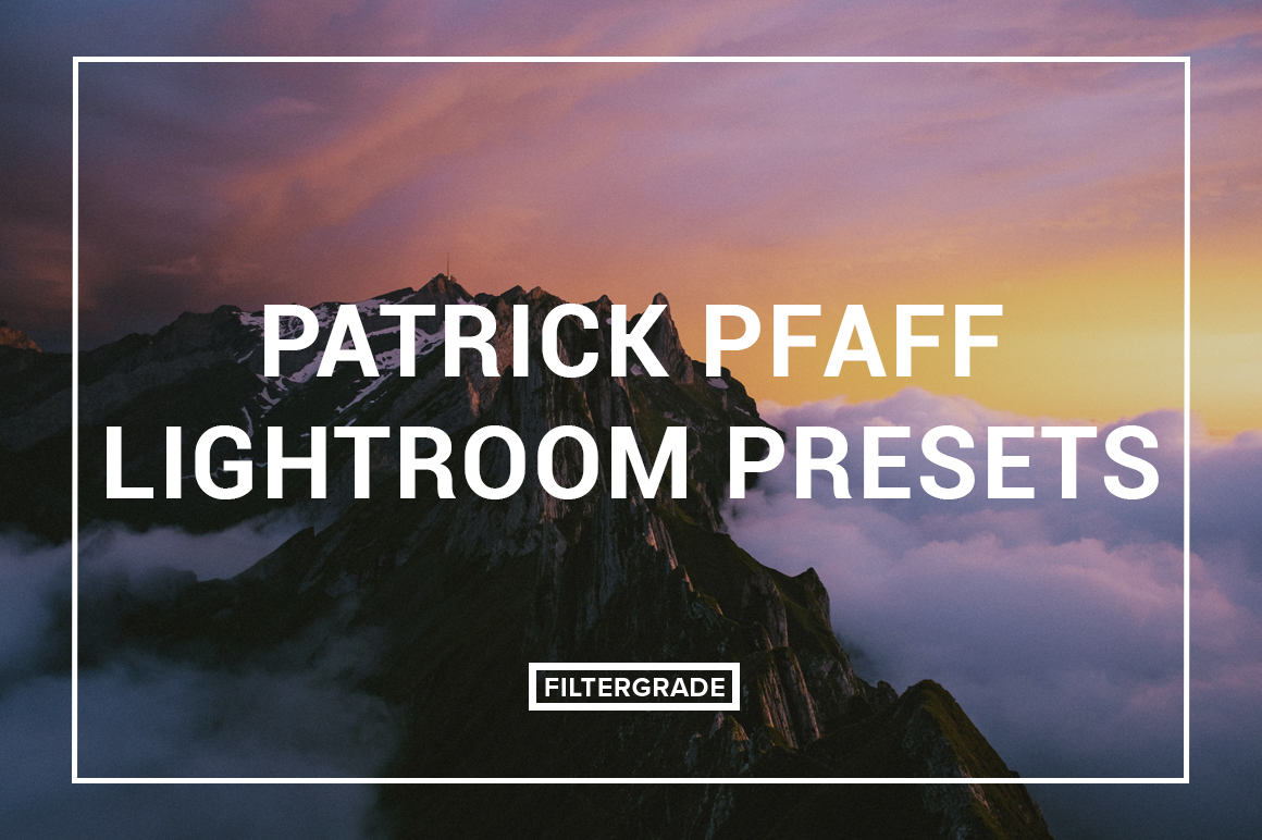 Featured Patrick Pfaff Lightroom Presets - FilterGrade Digital Marketplace