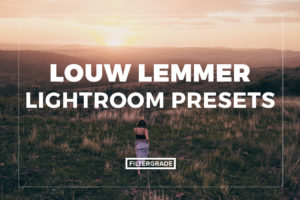 Featured Louw Lemmer Lightroom Presets - FilterGrade Marketplace