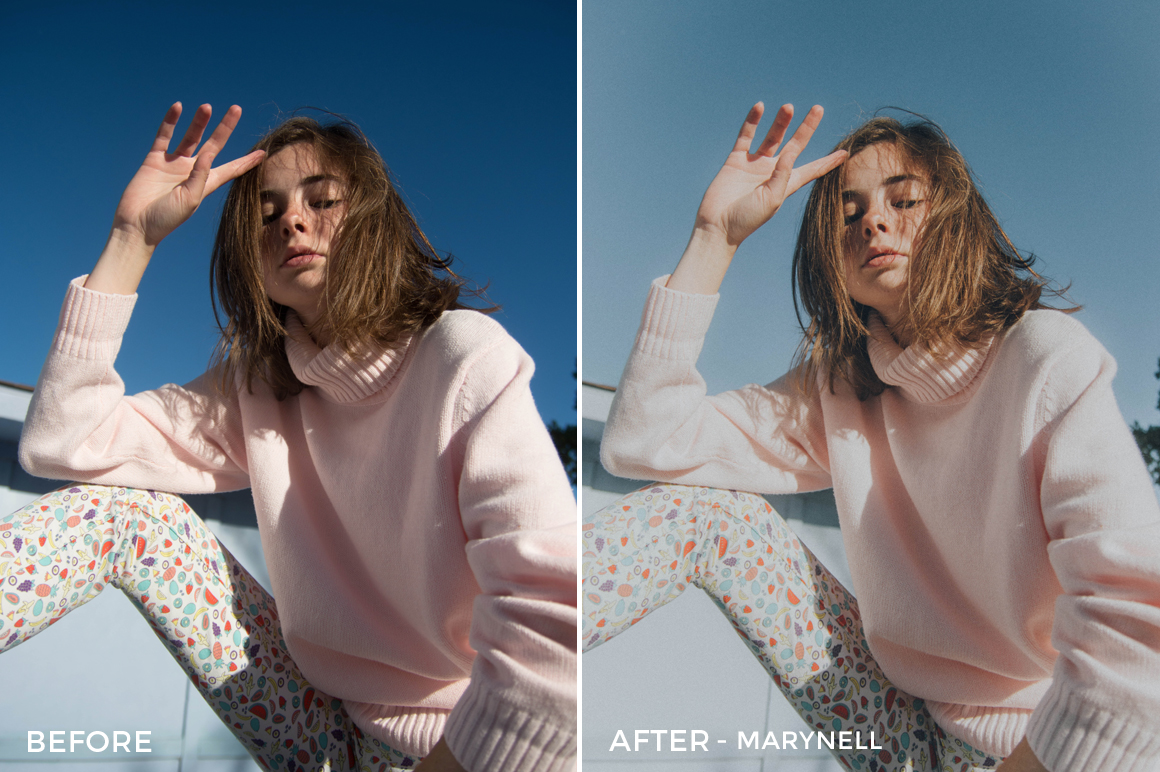 6 MaryNell - Stewart Clementz Retro Lightroom Presets - Stew Caldo Photography - Hive Creatives - FilterGrade Digital Marketplace