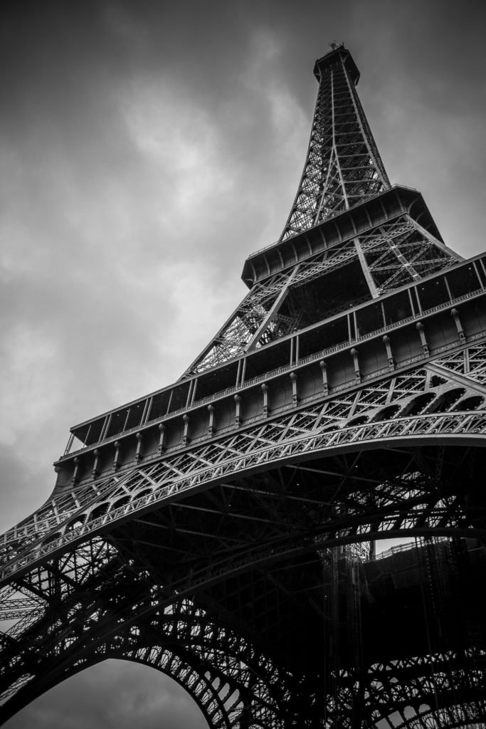 Top of the Eiffel Tower 1 - FilterGrade Blog