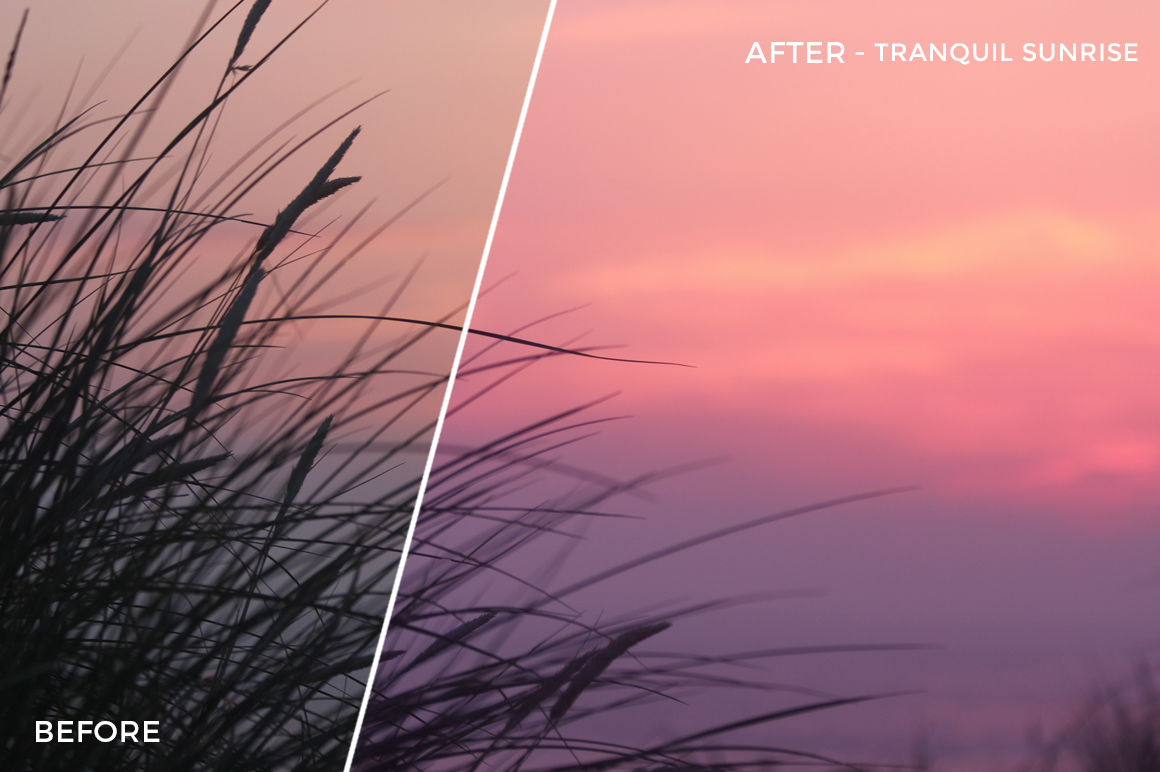 6 Tranquil Sunrise - Jesmer Folkerts Lightroom Presets - Jesmer Folkerts Photography - FilterGrade Digital Marketplace