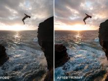 5 Sunset - Julien Azelart Lightroom Presets - julienazelart - FilterGrade Digital Marketplace