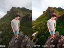 3 mountaintop - Julien Azelart Lightroom Presets - julienazelart - FilterGrade Digital Marketplace