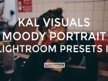 Featured Kal Visuals Moody Portrait Lightroom Presets - Kyle Andrew Loftus - FilterGrade Digital Marketplace