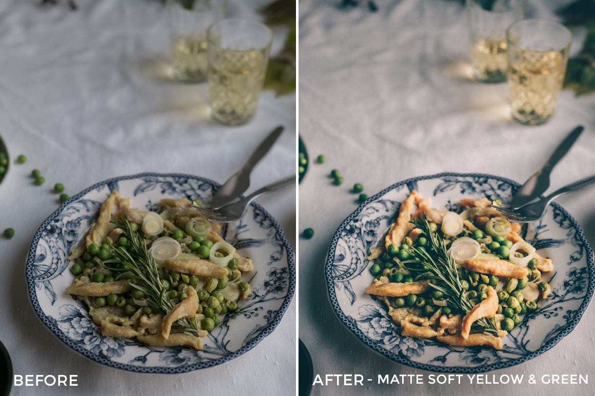 Matte-Soft-Yellow-and-Green-Black.White_.Vivid-Food-and-Still-Life-Lightroom-Presets-FilterGrade1