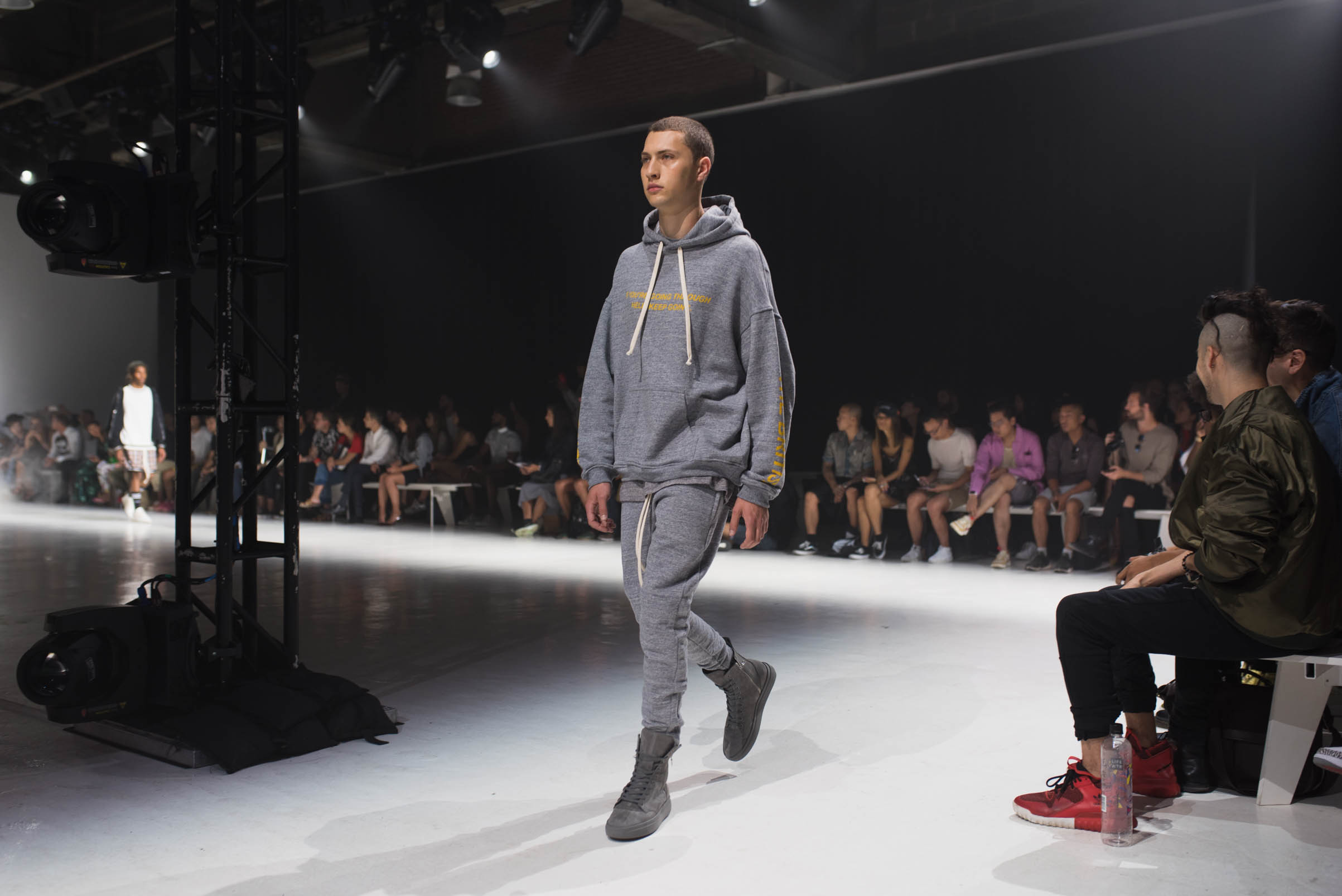 cozy fit represent clothing ss18 at new york men's fashion week