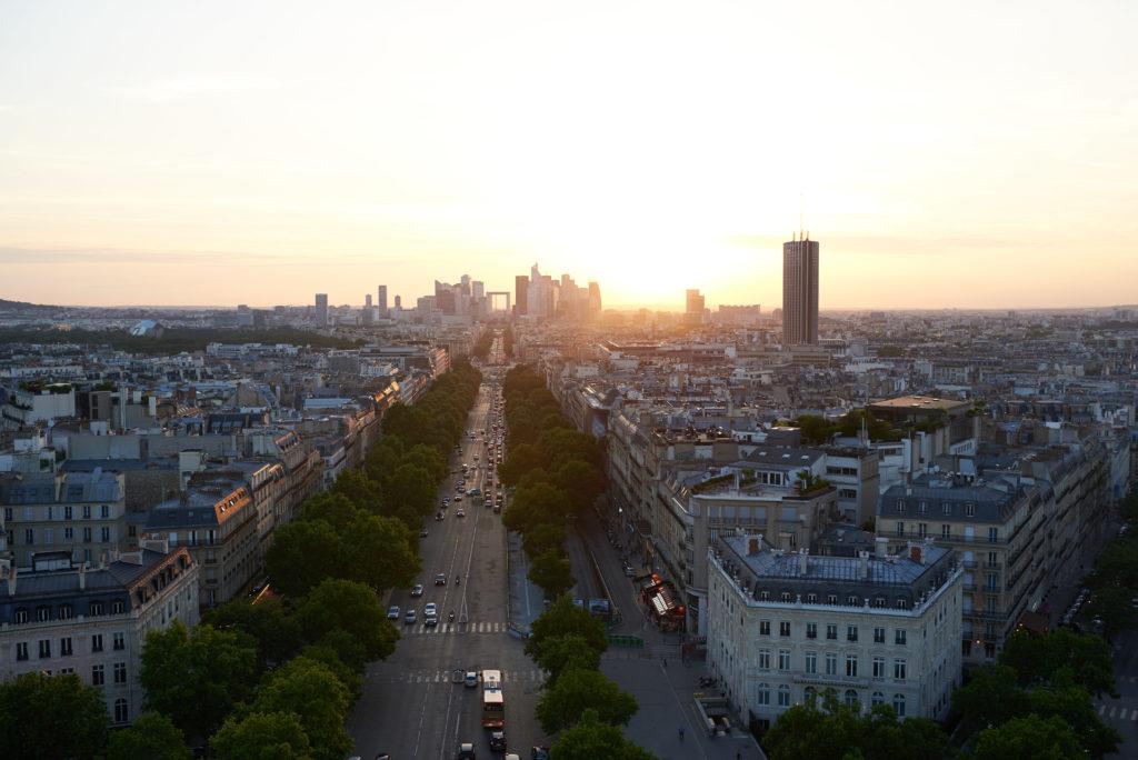 sunset in paris capture one tutorial