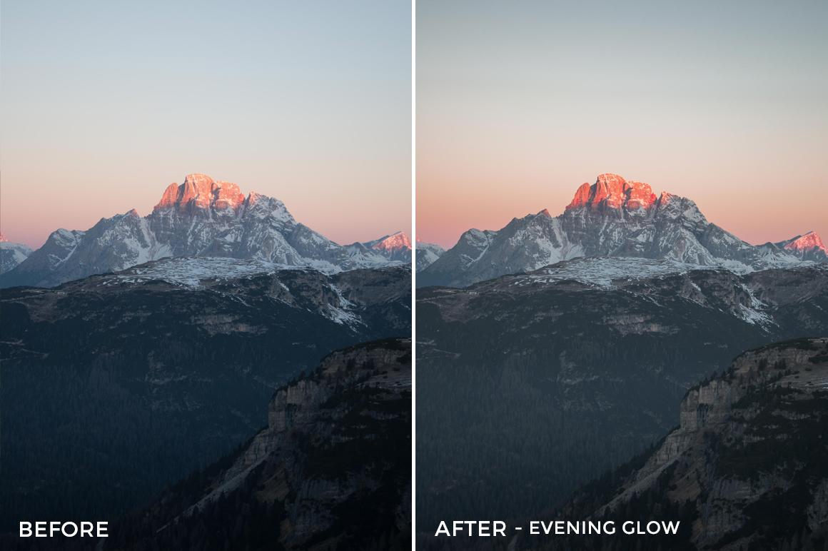 8 Evening Glow - Lukas De Groodt Lightroom Presets - FilterGrade Digital Marketplace