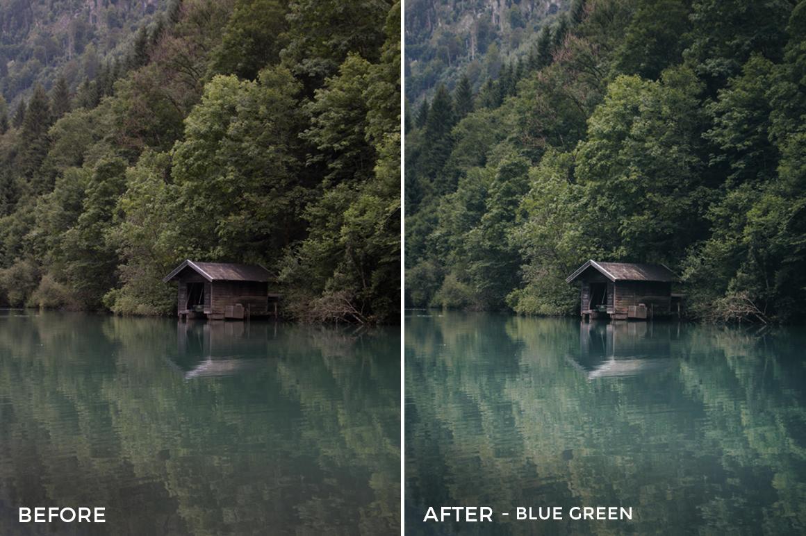2 Blue Green - Lukas De Groodt Lightroom Presets - FilterGrade Digital Marketplace