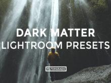 Featured - Dark Matter Lightroom Presets - Noah Humphreys Photography - FilterGrade Digital Marketplace