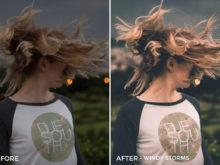 10 Windy Storms - Louw Lemmer Lightroom Presets 2.0 - FilterGrade Digital Marketplace