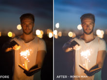 1 Bokeh Man - Louw Lemmer Lightroom Presets 2.0 - FilterGrade Digital Marketplace
