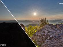 2 Loaded Landscapes Aurora HDR Presets - FilterGrade Digital Marketplace