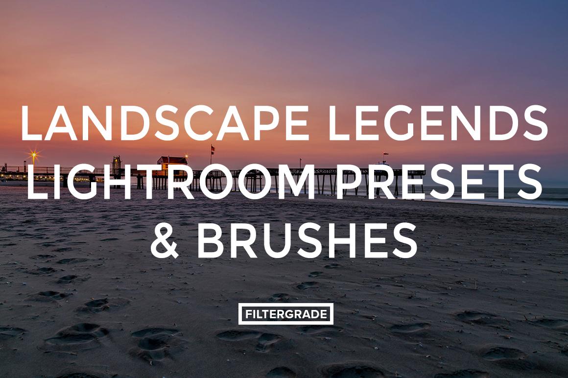 FEATURED - Landscape Legends lightroom Presets & Brushes - Marc Andre Photography - FilterGrade Digital Marketplace