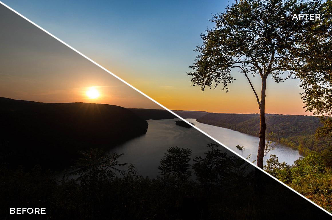4 Landscape Legends lightroom Presets & Brushes - Marc Andre Photography - FilterGrade Digital Marketplace