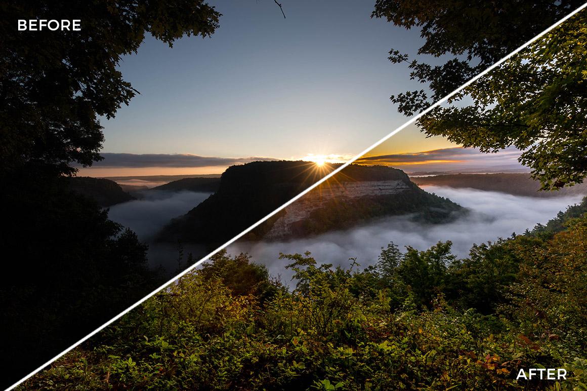 3 Landscape Legends lightroom Presets & Brushes - Marc Andre Photography - FilterGrade Digital Marketplace