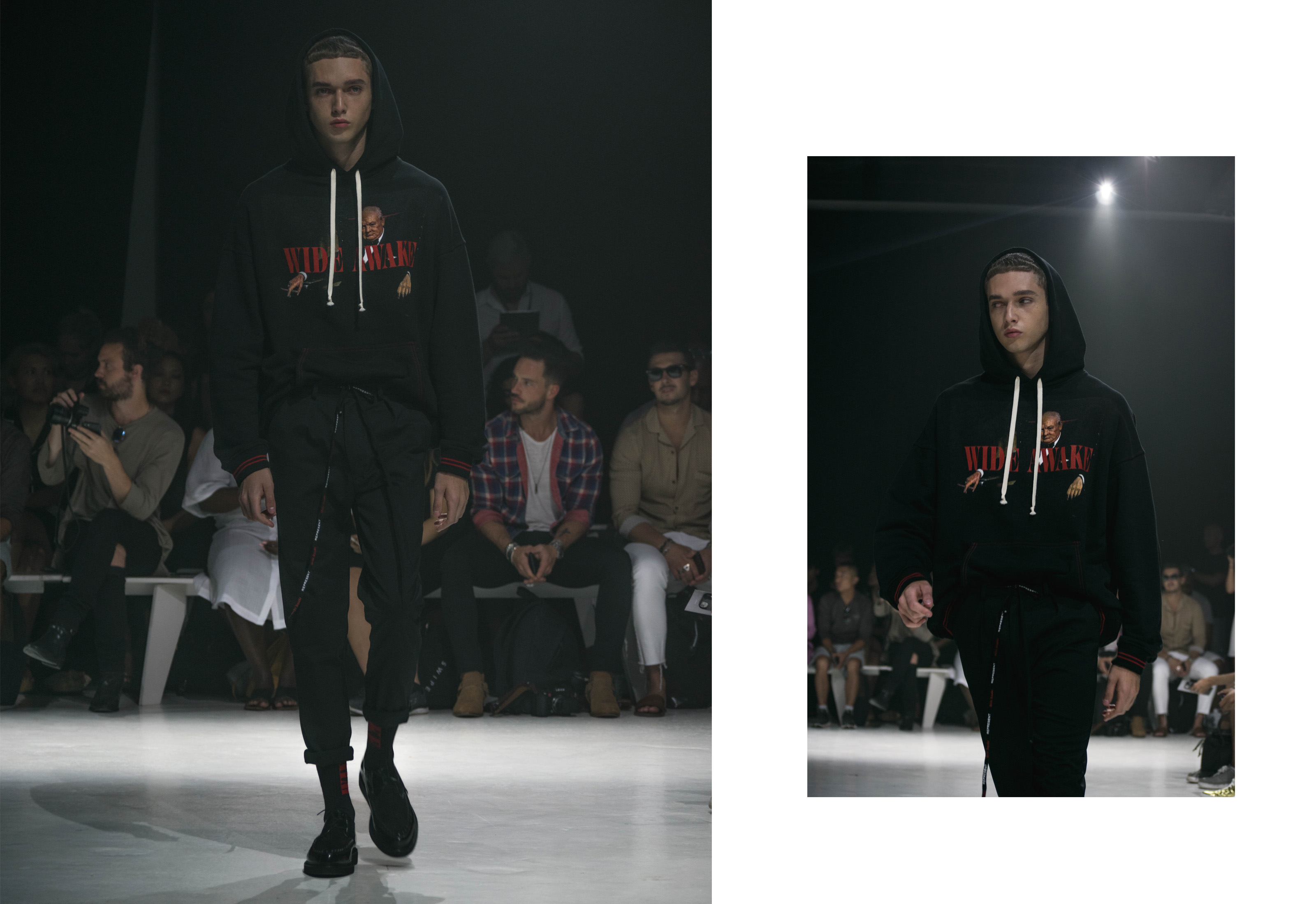 Wide Awake - Represent Clothing SS18 Highlights from New York Fashion Week- Men's 2017 - FilterGrade Blog