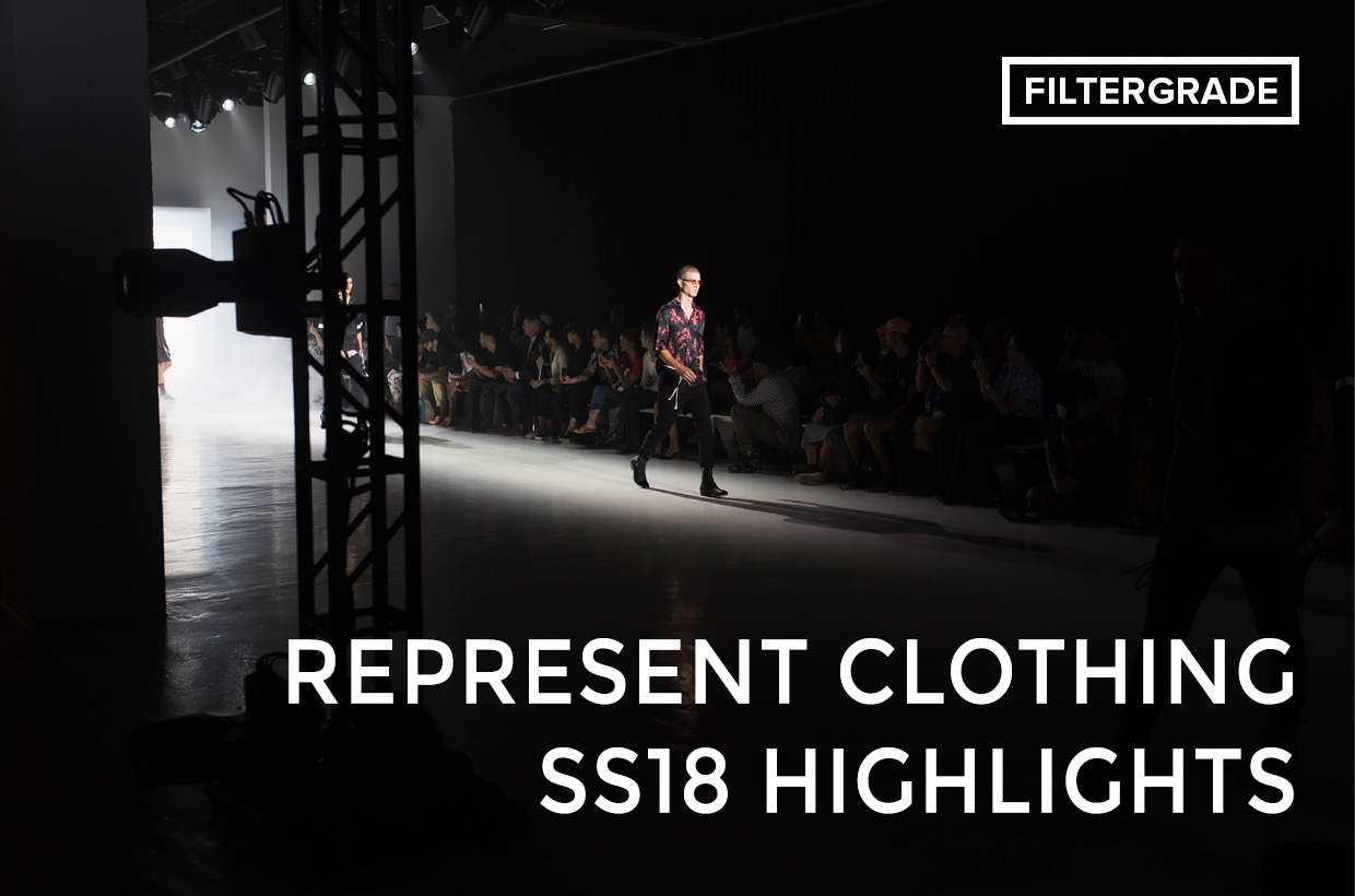 Featured - Represent Clothing SS18 Highlights from New York Fashion Week- Men's 2017 - FilterGrade Blog