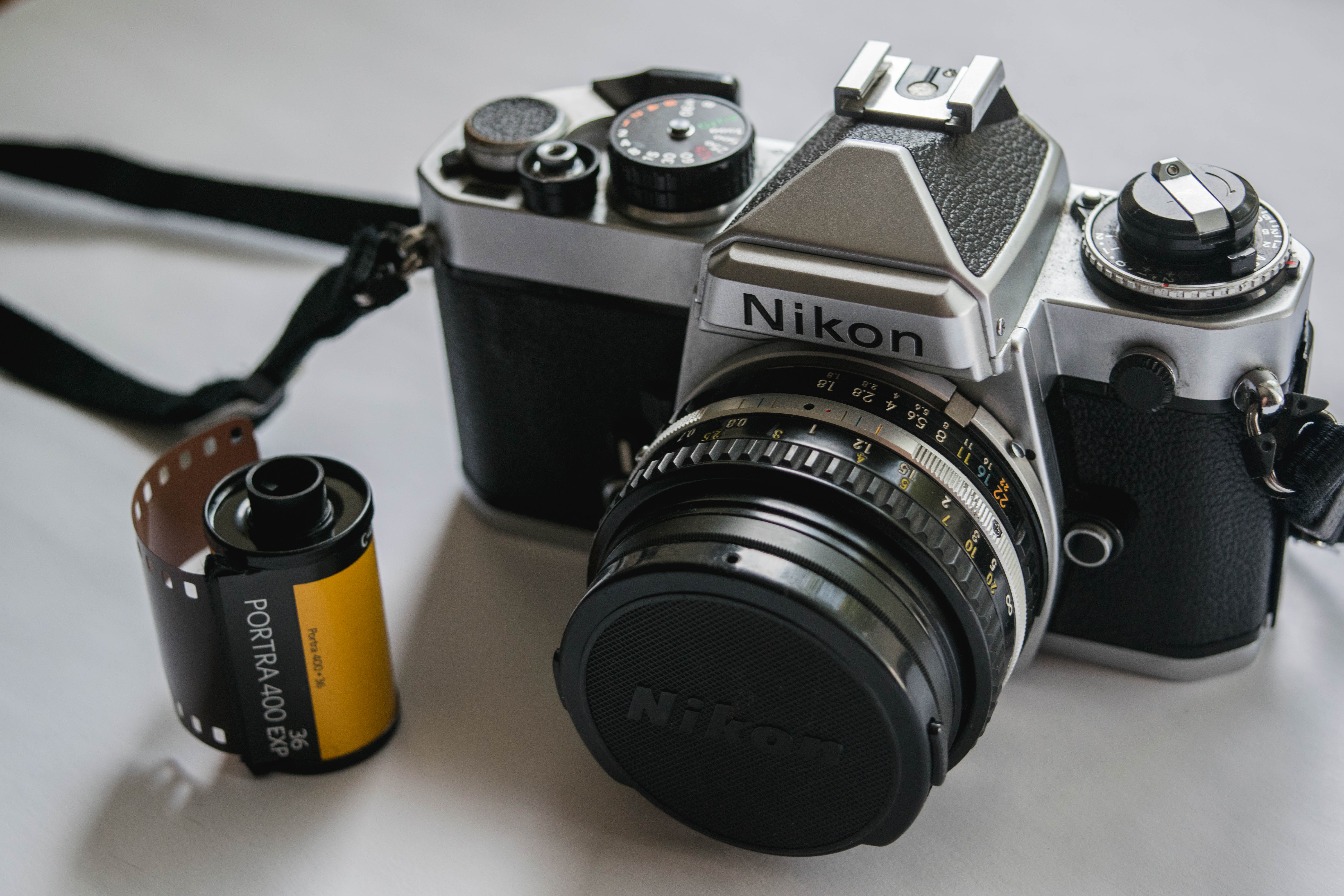 Nikon FE - How to Load Film into a 35mm Film Camera - FilterGrade Blog