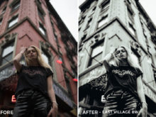 3 East Village BW - Dennis Tejero Lightroom Presets - Dennis Tejero Photography - FilterGrade Digital Marketplace
