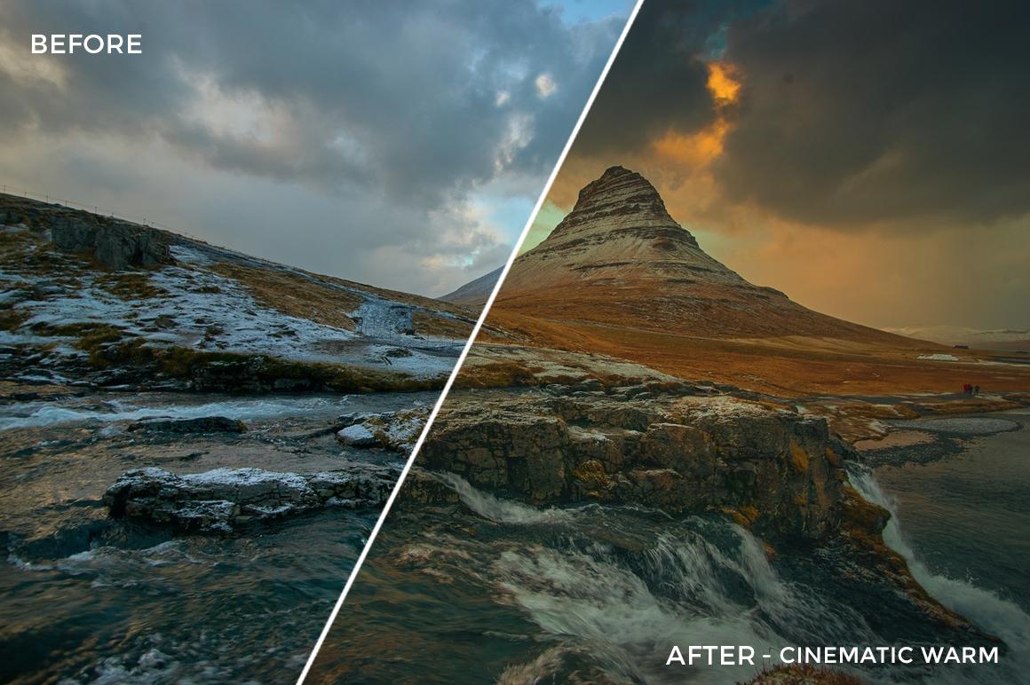 2 Cinematic Warm - TJ Drysdale Lightroom Presets - TJ Drysdale Nature & Portrait Photography - FilterGrade Digital Marketplace