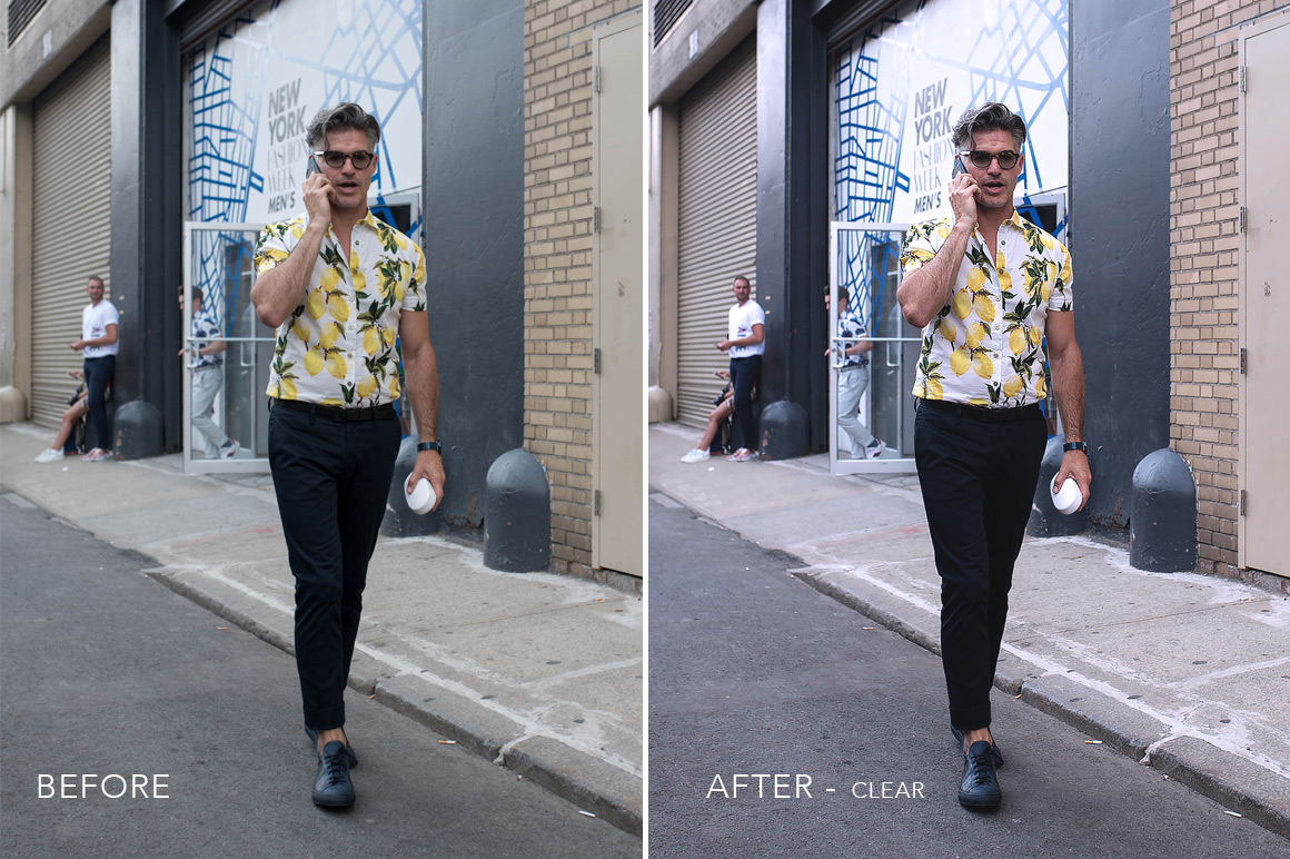 clear fashion week photoshop actions