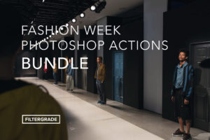 Fashion Week Photoshop Actions Bundle