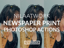 Nilaatwork Print Photoshop Actions