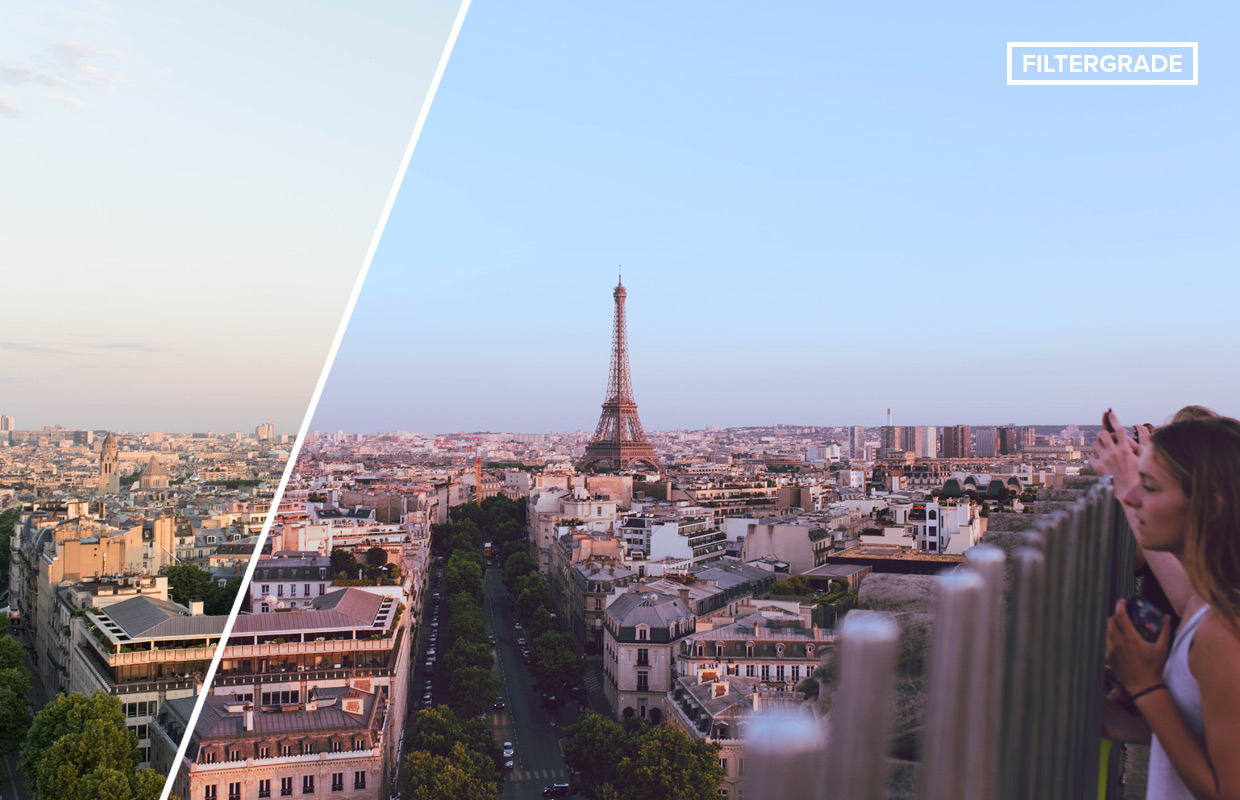 travel photoshop actions inspired by paris