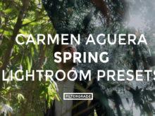 FEATURED - Carmen Aguera Spring Lightroom Presets - FilterGrade Digital Marketplace
