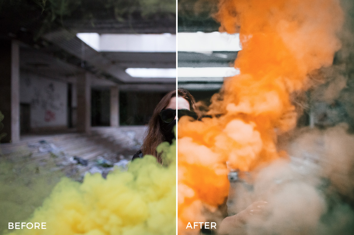 5 Urbex Lightroom Presets - David Pordan Phtoography - FilterGrade Digital Marketplace