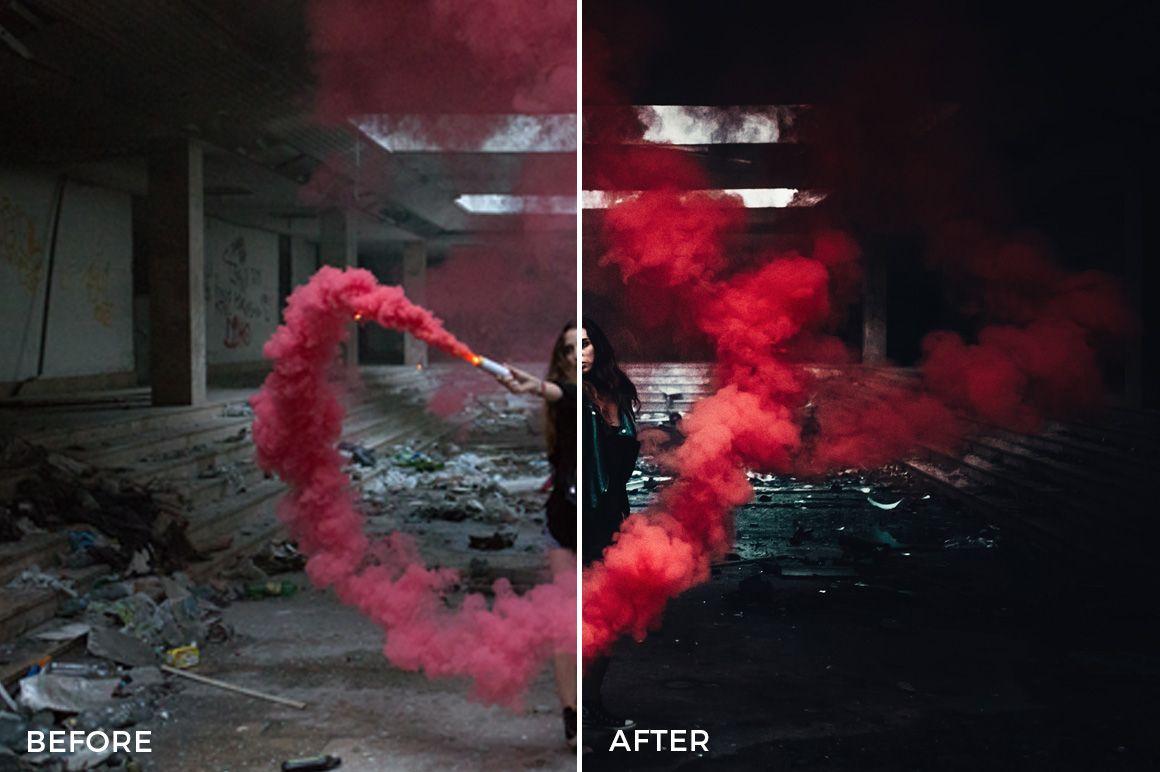 4 Urbex Lightroom Presets - David Pordan Phtoography - FilterGrade Digital Marketplace