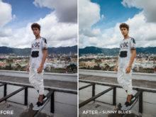 - Sunny Blues - Gilbert Sosa Lightroom Presets - FilterGrade