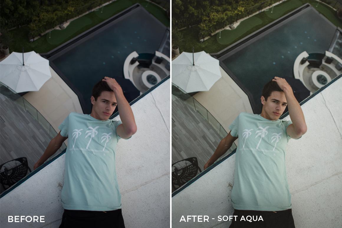 3 Soft Aqua - Gilbert Sosa Lightroom Presets - FilterGrade