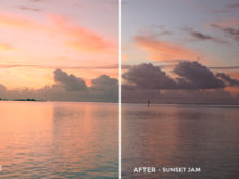 6 Sunset Jam - Justin Burbage Video LUTs - FilterGrade
