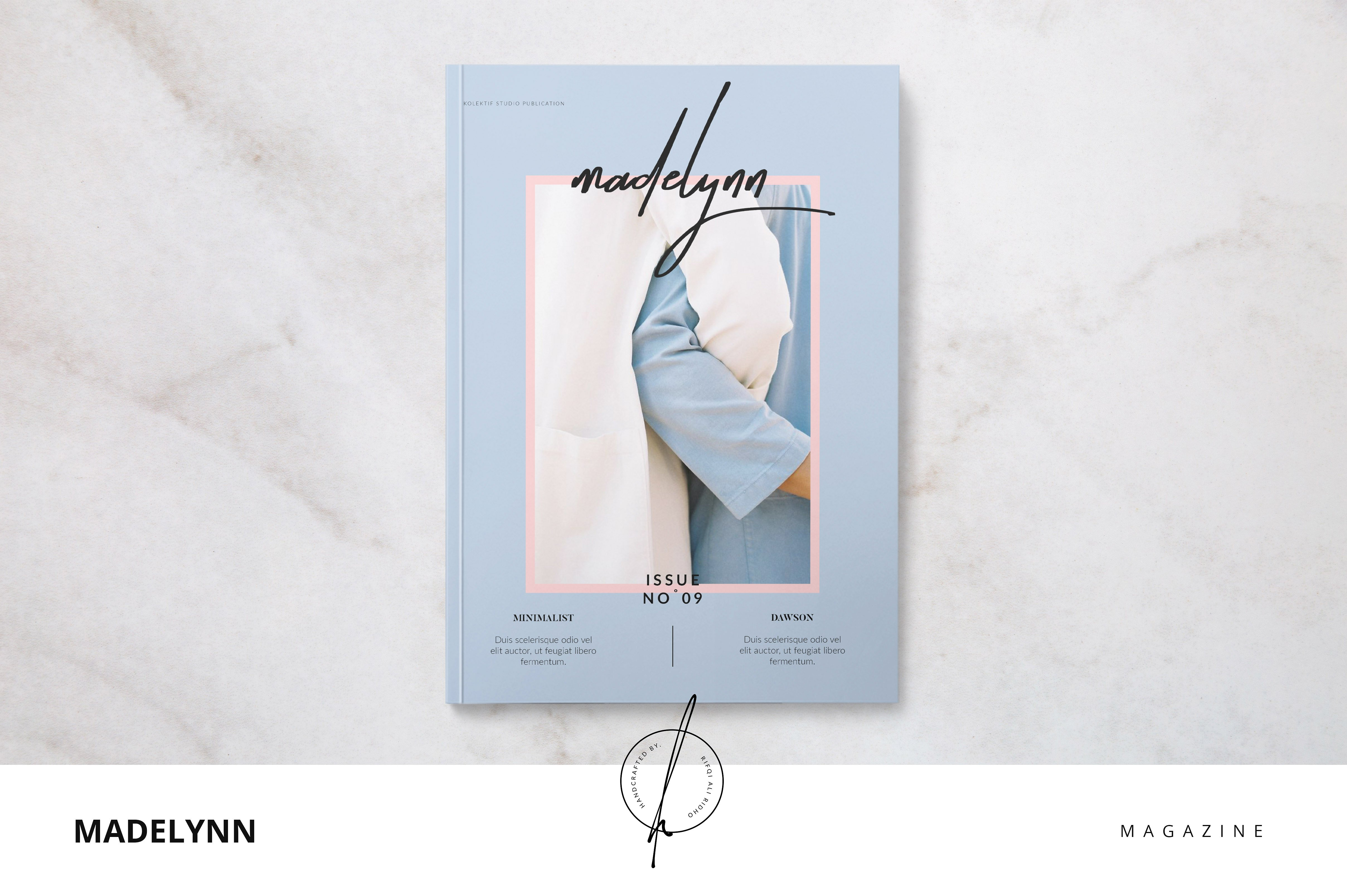 madelynn magazine template photography