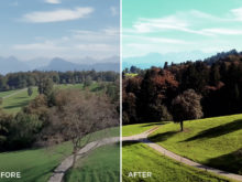 18 Mountains - Franco Noviello Drone LUTs - FilterGrade