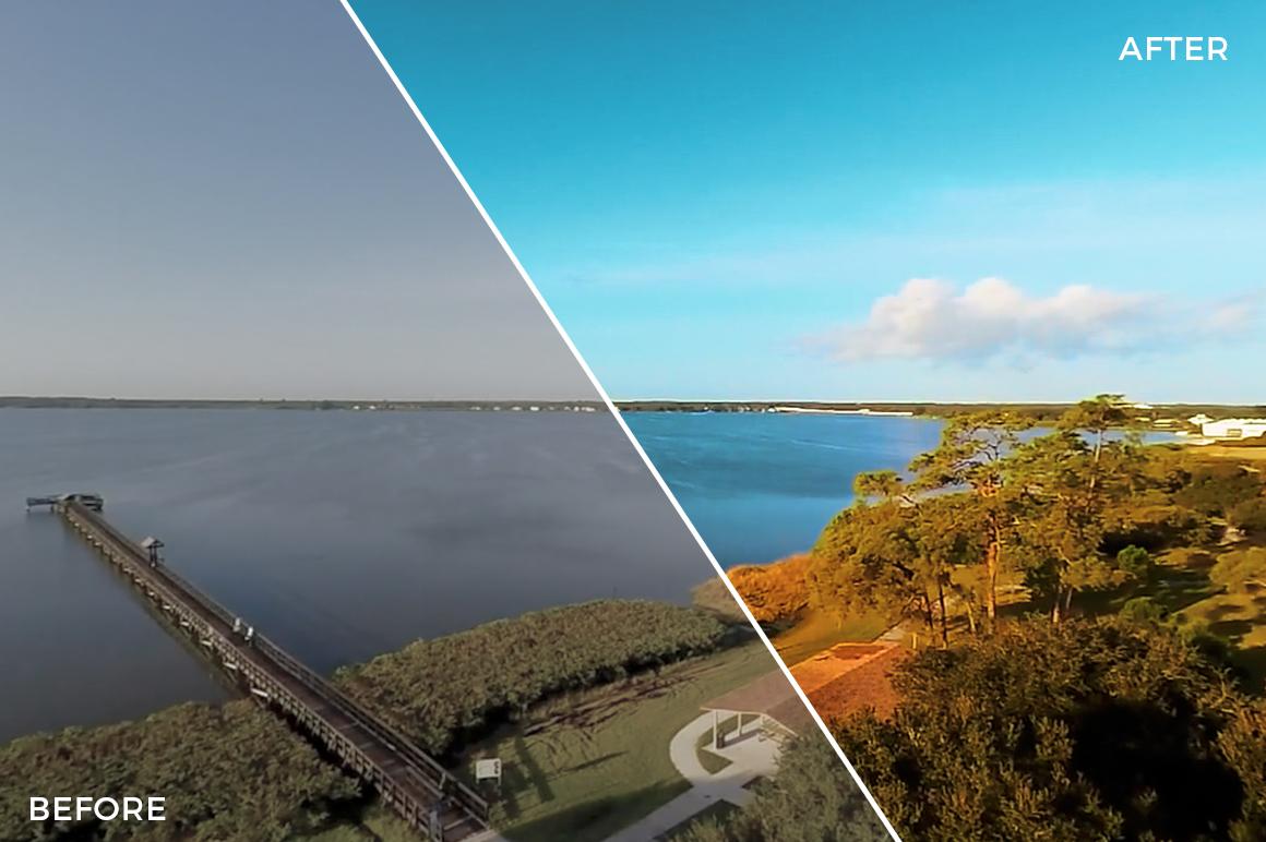 14 Lake - Franco Noviello Drone LUTs - FilterGrade