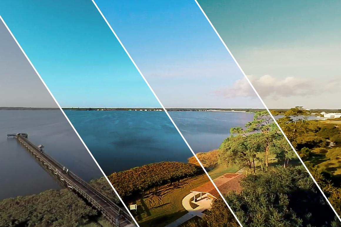 11 Lake - Franco Noviello Drone LUTs - FilterGrade
