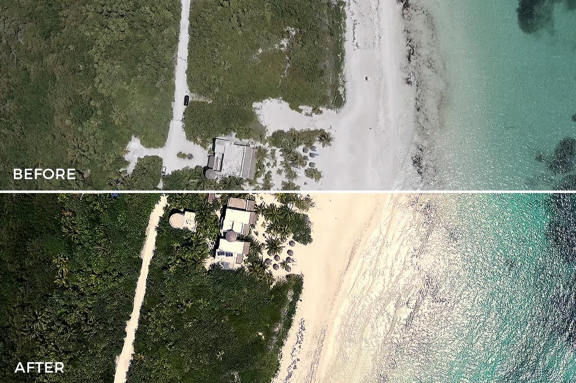 10 Overview - Franco Noviello Drone LUTs - FilterGrade