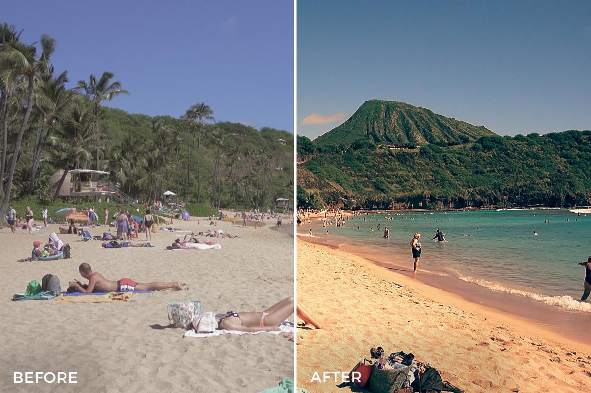 6 Beach - Franco Noviello Drone LUTs - FilterGrade