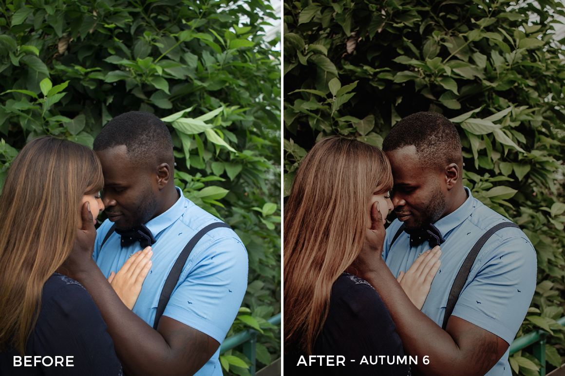 6 Autumn Lightroom Presets - Jose Zurita - FilterGrade