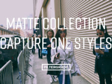Matte Collection Capture One Styles for street, fashion, and commercial photography.