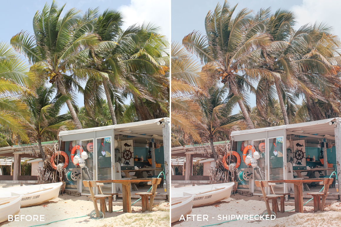 4 Shipwrecked - Jess Meyrick Wanderlust Lightroom Presets - Jess Meyrick @the_wondering_dreamer - FilterGrade Digital Marketplace
