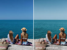 3 Endless Blues - Jess Meyrick Wanderlust Lightroom Presets - Jess Meyrick @the_wondering_dreamer - FilterGrade Digital Marketplace