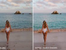 1 Beach Dreams - Jess Meyrick Wanderlust Lightroom Presets - Jess Meyrick @the_wondering_dreamer - FilterGrade Digital Marketplace
