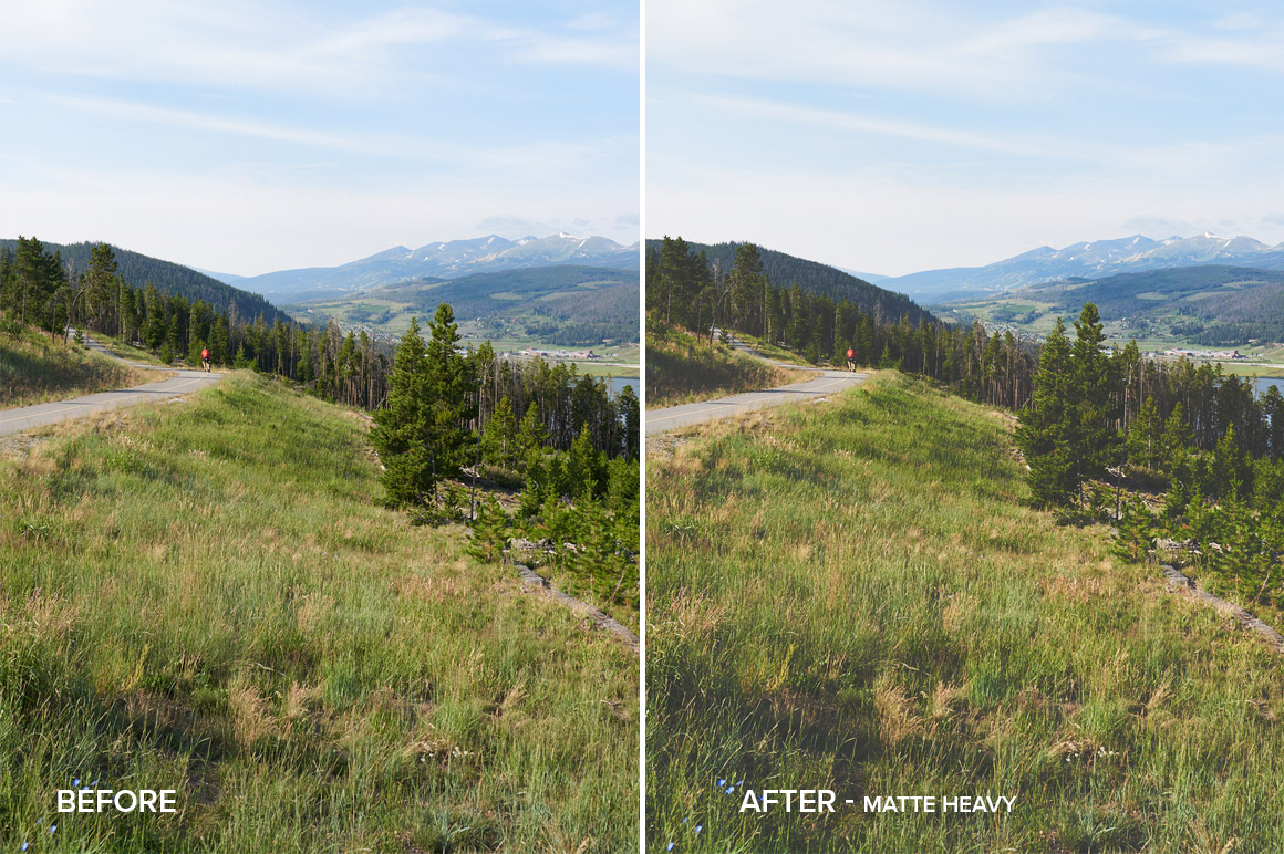 heavy matte nature effect capture one pro styles