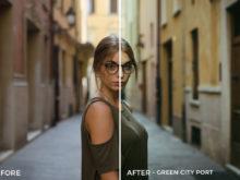 Green City Port - Emanuele Di Mare Portrait Juice Lightroom Presets - FilterGrade