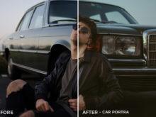 Car Portra - Emanuele Di Mare Portrait Juice Lightroom Presets - FilterGrade